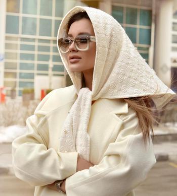 15 идей как модно носить платок с пальто и выглядеть безупречно