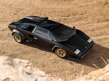 Lamborghini Countach 1/50 1979 Darth Vader