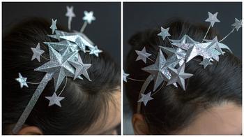 Новогодняя корона своими руками