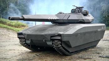 Самый незаметный танк в мире. PL-01 Concept
