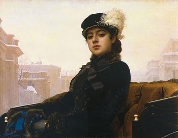 """Знаменитая """"Неизвестная"""": трагическая судьба дочери великого художника"""