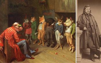 За что не любили художника Уильяма Холбрука влиятельные люди и обожали простые американцы