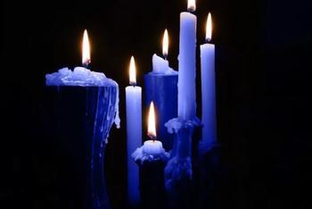 Самый сильный ритуал на выигрыш в лотерею на 40 синих свечах