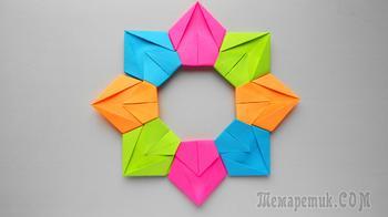 Цветик семицветик. Как сделать цветок из бумаги