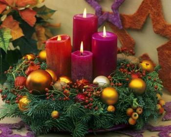 Как сделать и украсить рождественские, новогодние и свадебные свечи своими руками
