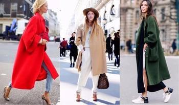 Модные женские пальто: осень 2018