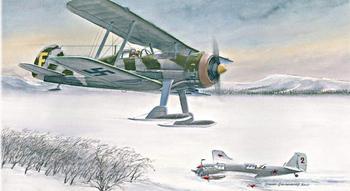 Карлсоны против сталинских соколов: шведский авиаполк Зимней войны