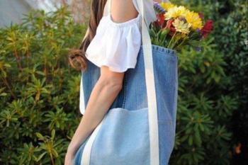 Как сшить из старых джинсов новую сумку: пошаговая инструкция