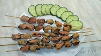 Вкуснейшие маринованные мидии в масле