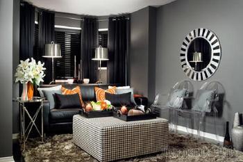 Оригинальные идеи по обустройству небольшой гостиной комнаты в современном стиле