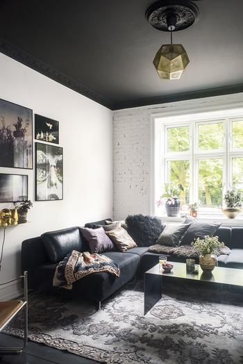 Черно-белый интерьер в его лучшем виде: квартира в Копенгагене