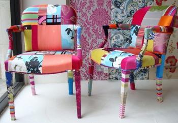 Как преобразить дешевый пластиковый стул