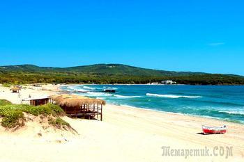 Болгарское побережье Черного моря 57. Приморско – лучшие пляжи