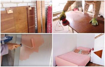 Блогер сумела переделать старую советскую мебель и стильный предмет интерьера