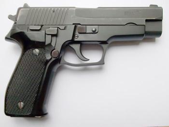 Стрелковое оружие современности: автоматический пистолет SIG-Sauer P226