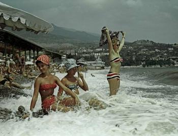 Как проводили свой летний отпуск советские люди
