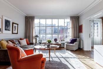 Красивая и уютная 3-х комнатная квартира в Стокгольме