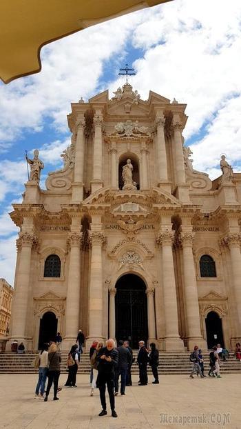 Сицилия. 16. Сиракузы. Кафедральный собор
