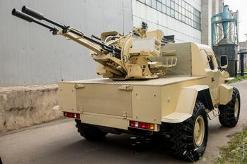 Многоцелевая артиллерийская установка «САМУМ»