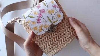 Мини-сумочка из обычного шнура