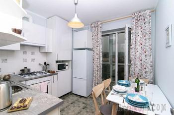Лаконичный дизайн однокомнатной квартиры 44,3 метра для семьи с ребенком