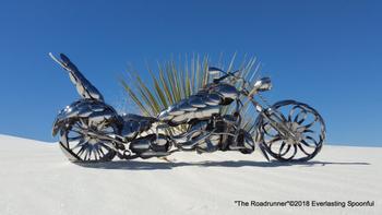 Мотоциклы из ложек