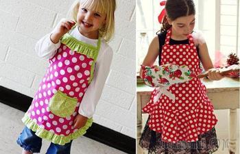 Шитье детского фартука: мастер-класс, идеи