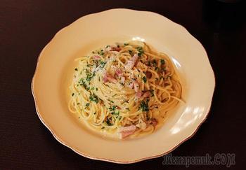 """Спагетти """"Карбонара"""" так, как они должны быть"""
