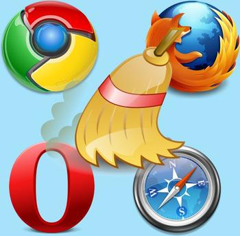 Как почистить куки и кэш в браузерах Хром, Опера, Мозила