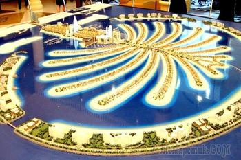Дубай - современная сказка Шахерезады 7. Пальма Джумейра - восьмое чудо света