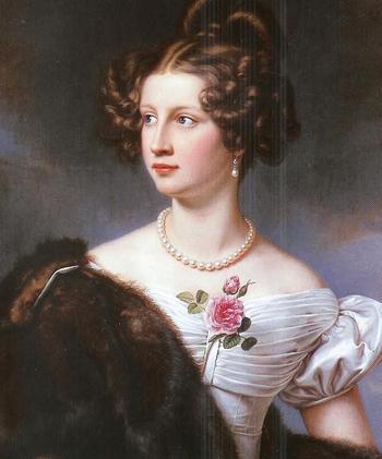Амалия Криденер красавица украсившая галерею красавиц Людвига I