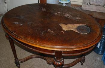 Реставрируем стол