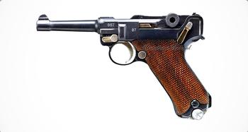 9-мм пистолет Borchardt—Luger «Parabellum» Р.08. (Борхард—Люгер «Парабеллум» П.08)