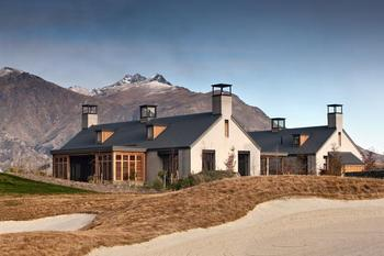 Чудесный дом с видом на горы в Новой Зеландии