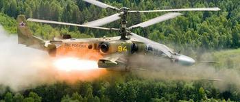 Ударные вертолёты, грозные винтокрылые машины