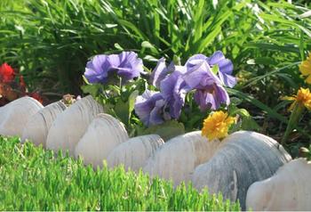 11 способов огородить грядки и клумбы, придав им аккуратный и оригинальный вид