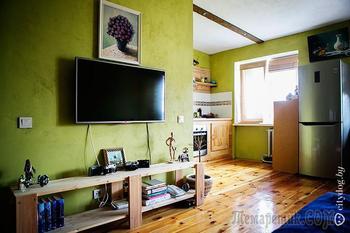 Квартира-студия для дизайнера-холостяка