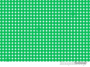 Загадка на внимательность: нужно найти 3 квадратика среди кружочков