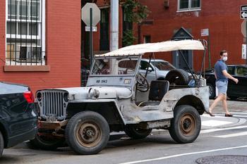 Ретро-автомобили в Нью-Йорке