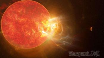 Гигантская вспышка на ближайшей к Солнцу звезде бьет все рекорды