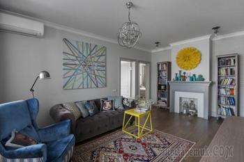 Как самостоятельно сделать ремонт: квартира дизайнера в панельном доме