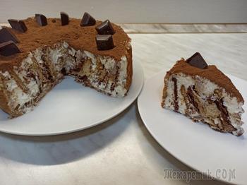 """Торт без выпечки """"Любимчик"""". Очень простой рецепт торта"""