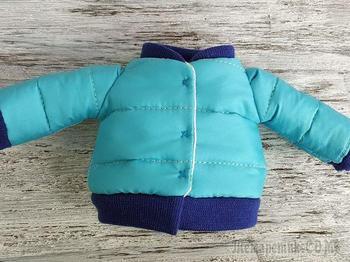 Шьем куртку для куклы