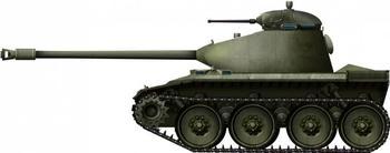 Проект легкого танка T71 (США)