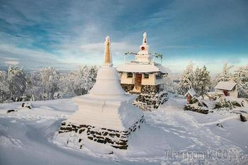Фотограф Виктор Соколов. Прогулка в буддийский монастырь Шедруб Линг на горе Качканар.