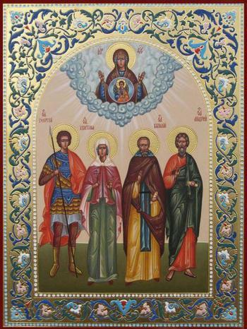 Греческие иконы Божьей матери: классификация творений