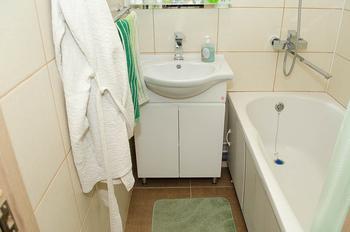 Ванная комната: лаконичный и комфортный интерьер