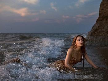 Тебя вчера мне подарило море (Стих)