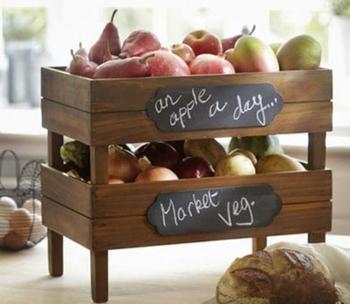 Органайзеры для фруктов и овощей, которые можно сделать своими руками