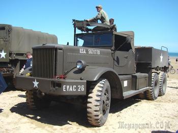 Транспортёры для танков, эвакуаторы и тягачи: малоизвестные тяжелые грузовики ленд-лиза